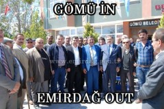 Gömü in, Emirdağ out!